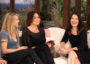 Liz Phair, Minnie Driver, and Fran Drescher
