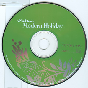 A Nordstrom Modern Holiday disc