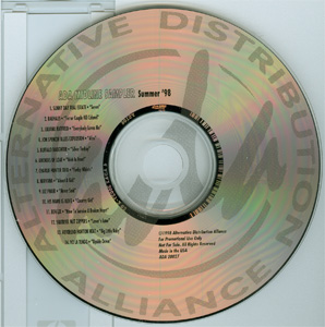 ADA Midline Sampler Summer '98 disc