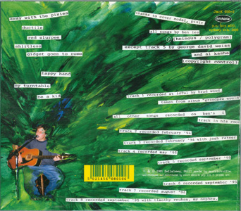 Away With The Pixies - Ben Lee back cover