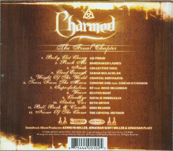 Charmed The Final Chapter back cover