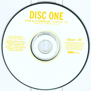 Film & TV Sampler / Summer '05 disc 1