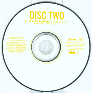 Film & TV Sampler / Summer '05 disc 2