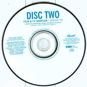Film & TV Sampler / Winter '05 disc 2