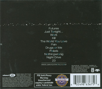 Futures back cover