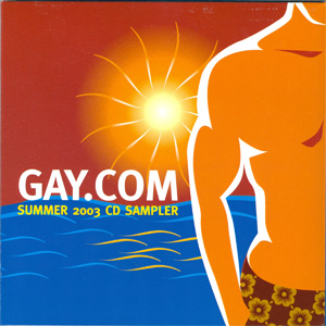 Gay.com Summer 2003 CD Sampler cover