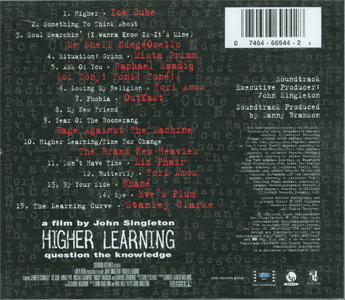 Higher Learning back cover