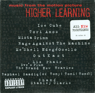 Higher Learning cover with sticker