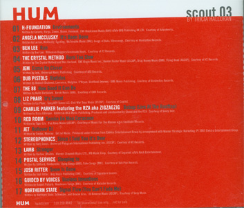 HUM scout.03 back cover