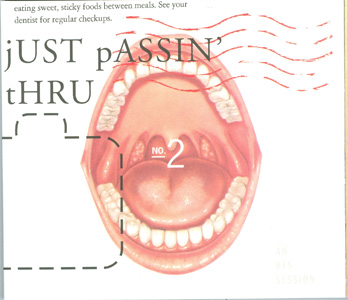 Just Passin' Thru No. 2 - An HFS Session digipak cover