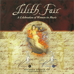 Lilith Fair - A Celebration of Women in Music Volume 2 & Volume 3 Advance Double CD cover