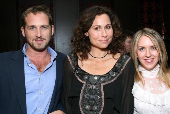 Josh Lucas, Minnie Driver, and Liz Phair at Esquire House 360 in Beverly Hills for the Annual Cocktail Party for Oxfam, November 29, 2006 -- A. Wyman / WireImage