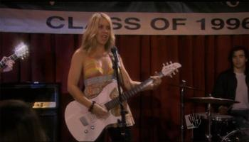 Liz Phair makes a guest appearance on The WB's Pepper Dennis