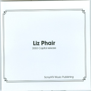 Liz Phair Sony / ATV Music Publishing advance cd cover