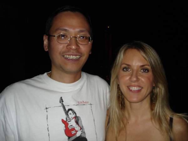 Liz Phair and Ken Lee