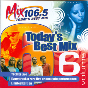 Mix 106.5 Today's Best Mix Volume 6 cover