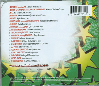 Now That's What I Call Music! 14 back cover