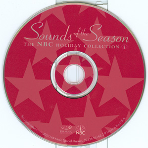 Sounds Of The Season - The NBC Holiday Collection disc