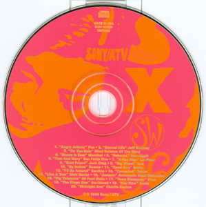SXSW 96 - Sony / ATV Music Publishing Sampler disc