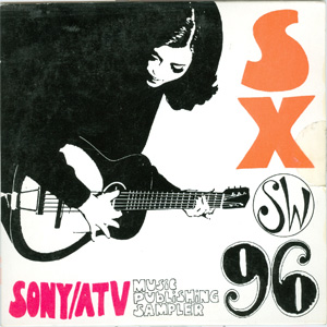 SXSW 96 - Sony / ATV Music Publishing Sampler cover