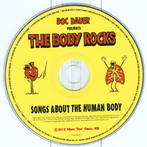 The Body Rocks disc