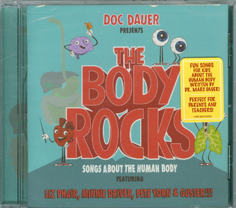 The Body Rocks cover with sticker