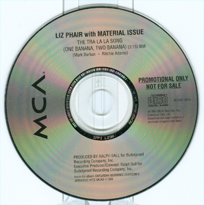 The Tra La La Song (One Banana, Two Banana) disc