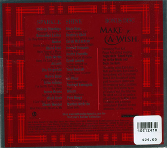 This Perfect Christmas - Bath & Body Works Holiday Music 2005 back cover