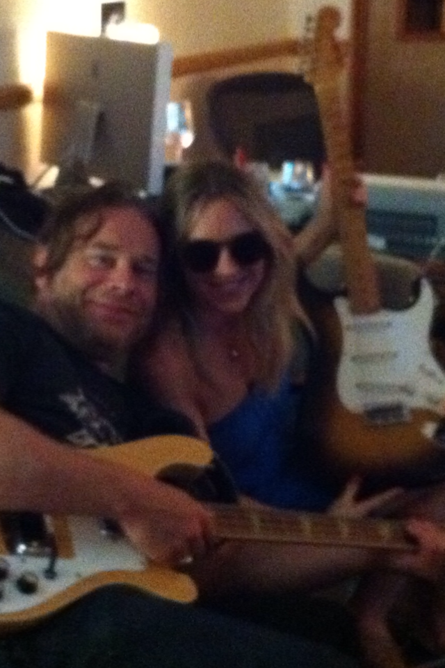 Tom Freund and Liz Phair