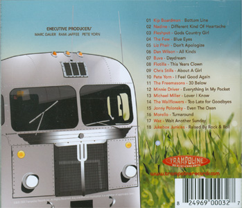 Trampoline Records Greatest Hits Vol. II back cover