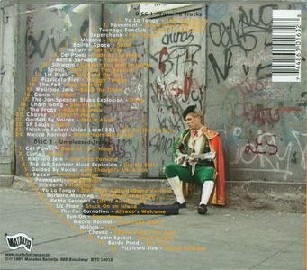 What's Up Matador back cover